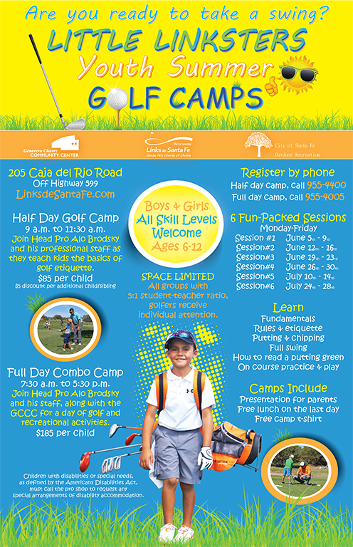 2017 Little Linksters Youth Summer Golf Camp